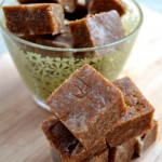 raw coconut fudge